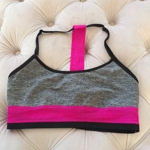 NEW PINK Bralette Gym Sports Bra